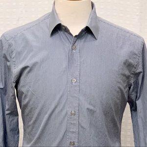 Ermenegildo Zegna (Z Zegna) Blue Striped L/S Shirt